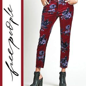 Free People   'Butterfly Floral' Skinny Pants